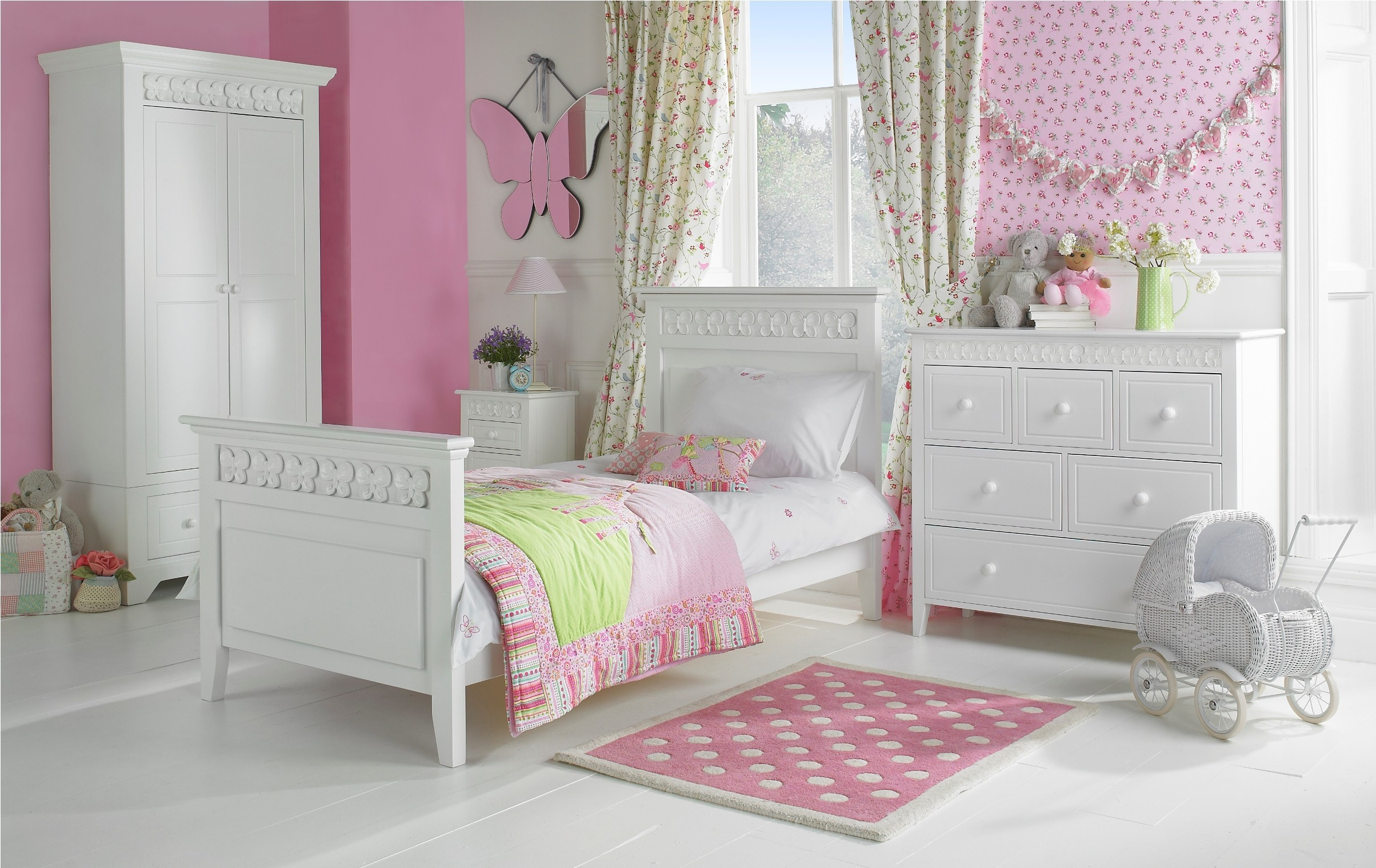 childrens bedroom furniture ... beautiful white brown wood glass modern design modern bedroom ... PLLOYVJ