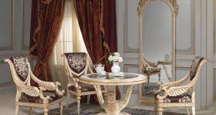 classic furniture classic table / glass / round louis xvi vimercati meda luxury classic TQMWIBO