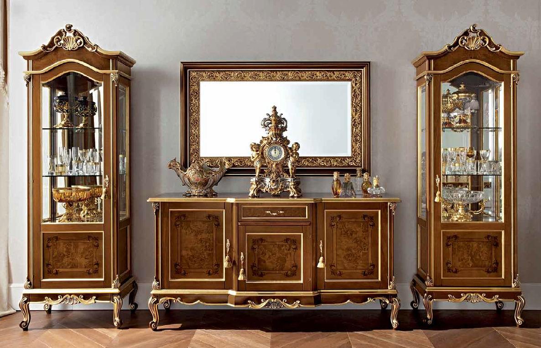 classic furniture sideboard with long legs / classic / wooden - casanova 12105 BAQEUQM