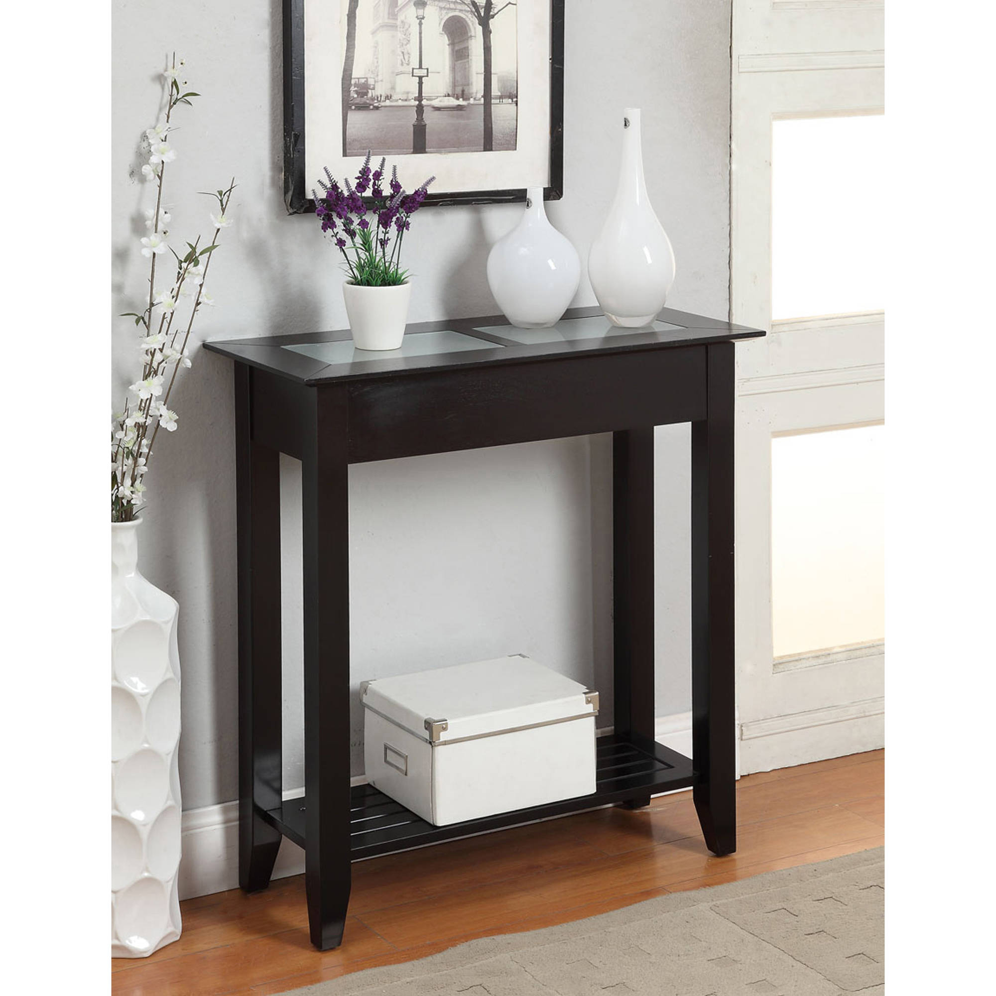 convenience concepts carmel hallway table, multiple colors - walmart.com OQUGTOL