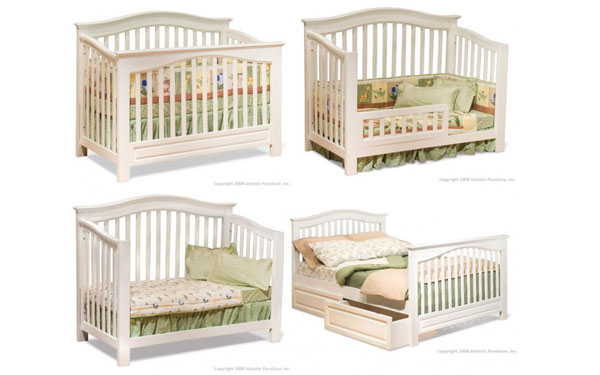 convertible cribs actually convert into a toddler, twin, or full bed and or NQLMOVP