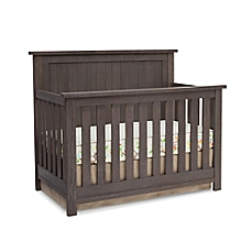 convertible cribs image of serta® northbrook 4-in-1 convertible crib in rustic grey GRLJLKC
