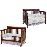 convertible cribs toddler bed or daybed SAGWLWI
