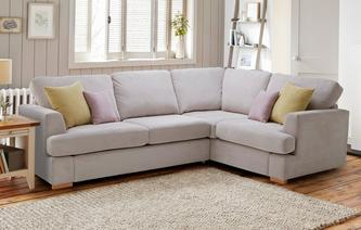 Corner Sofa Bed Freya Left Hand Facing 2 Piece Deluxe House Beautiful