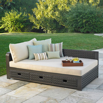 costco: del sol outdoor daybed by mission hills CFTBDEC
