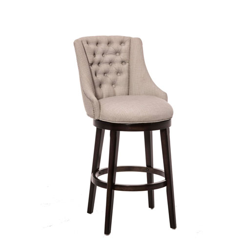 counter height stools halbrooke smoke swivel counter stool ADHHBLB