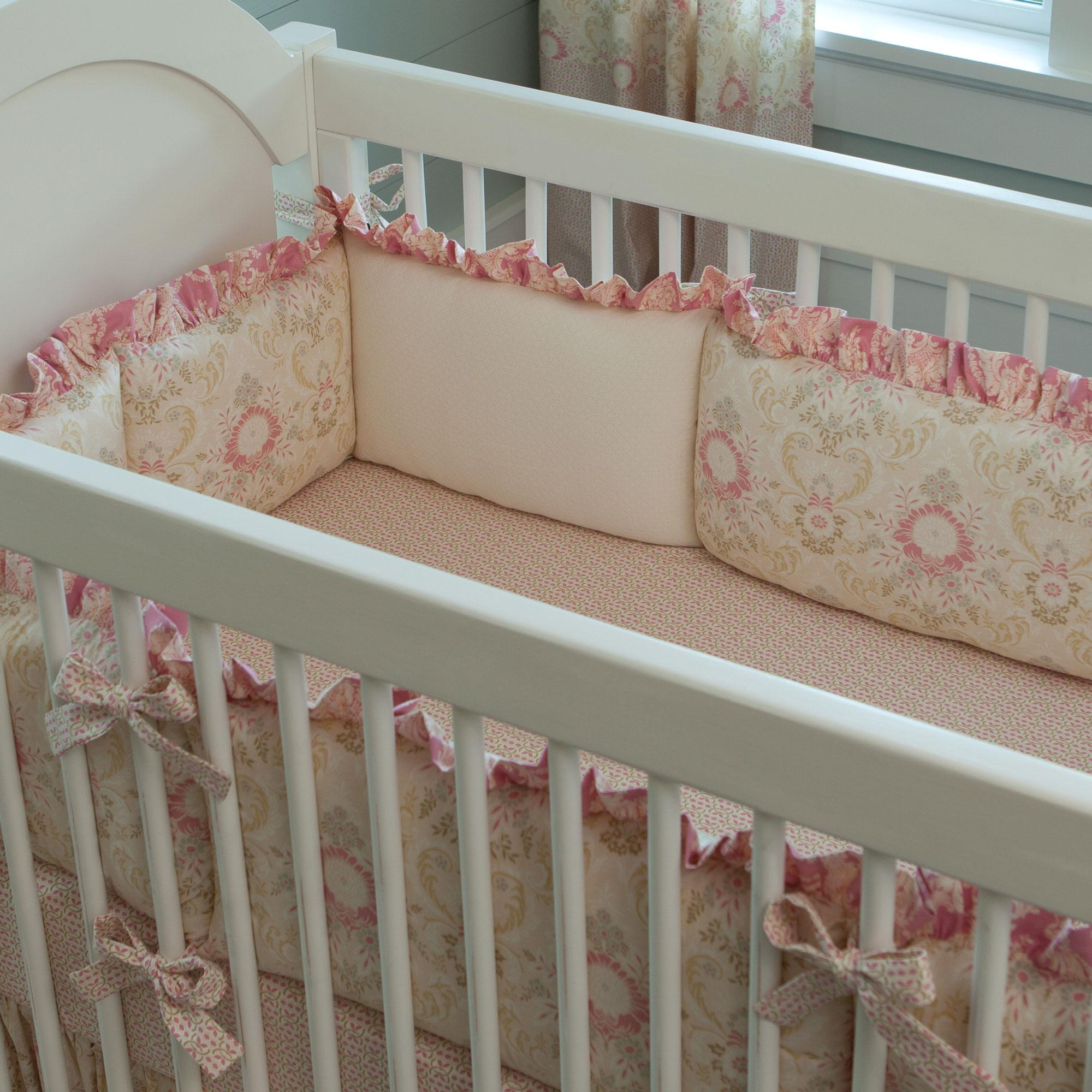 crib bumpers juliet crib bumper MSUMJSG
