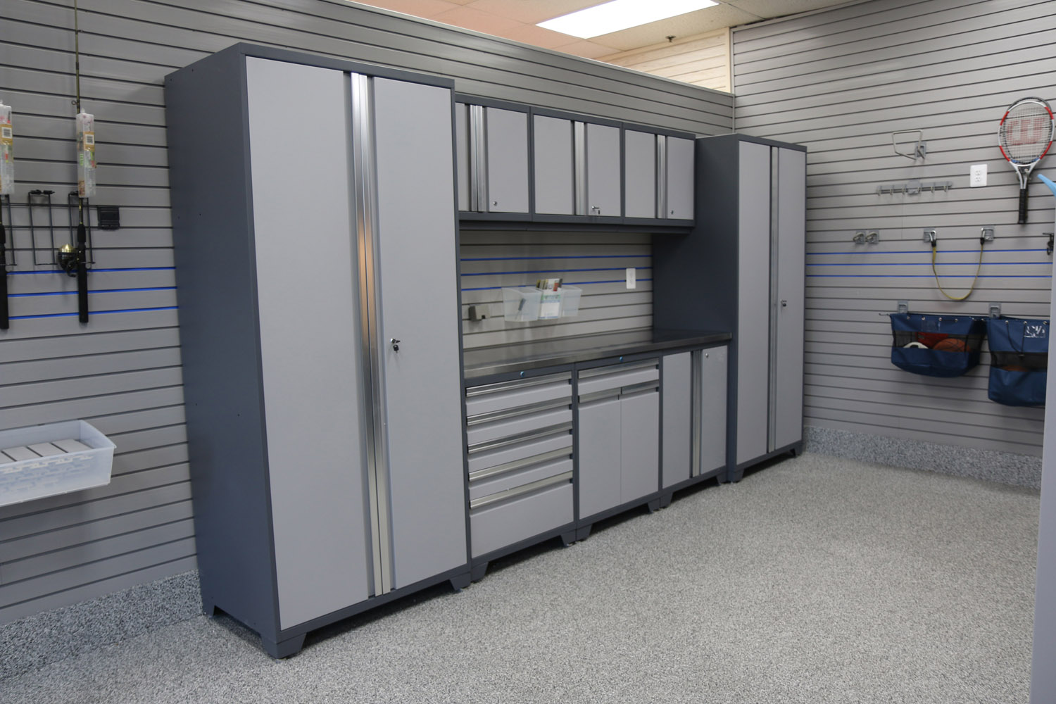 custom cabinet installation is included - our garage cabinets can be  installed XHRJGAY