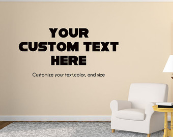custom wall decals custom wall decal custom office or study wall decal wall decor - your SNURZAD