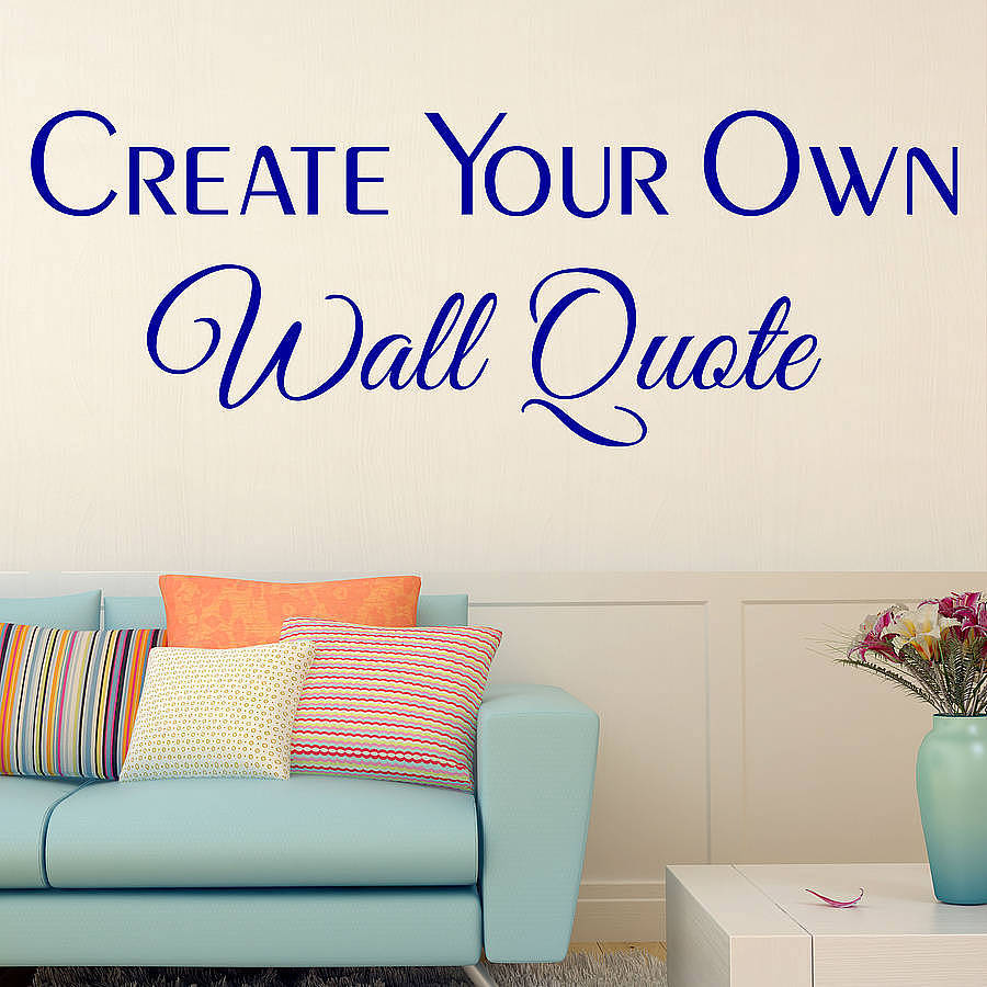 custom wall decals custom wall stickers by wall art quotes designs by gemma duffy XIWBWRF
