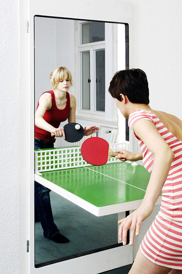 design ideas 13. ping pong door DTDVLGL