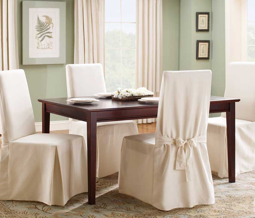 Selecting the ideal type of dining room chair covers ...