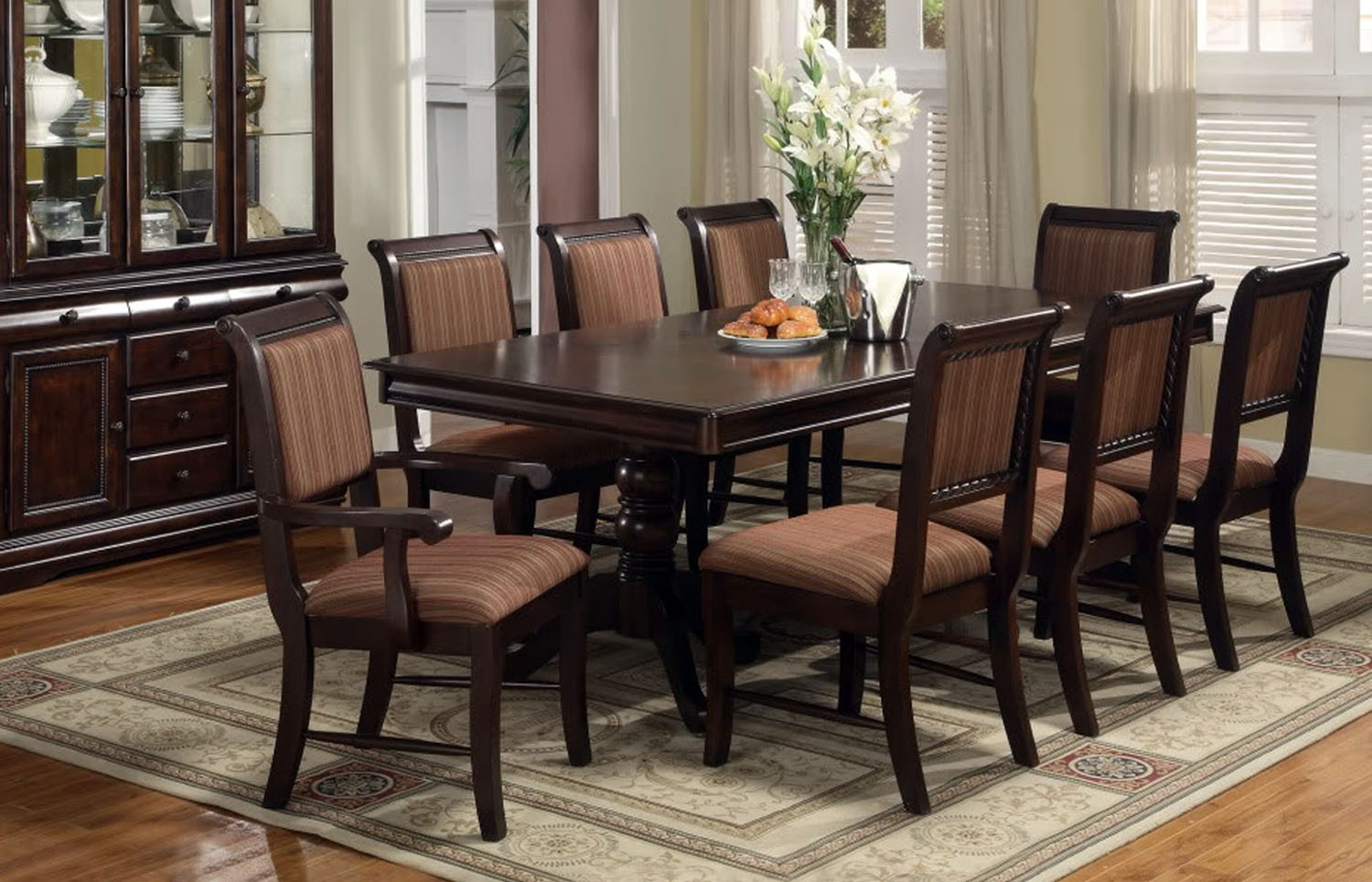 dining room table sets with smart design for dining room home decorators HXVAIZK