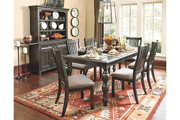 dining room tables townser 5-piece dining room OVOIMVE
