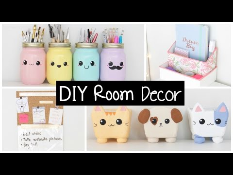 diy room decor u0026 organization - easy u0026 inexpensive ideas! HUWWUBX
