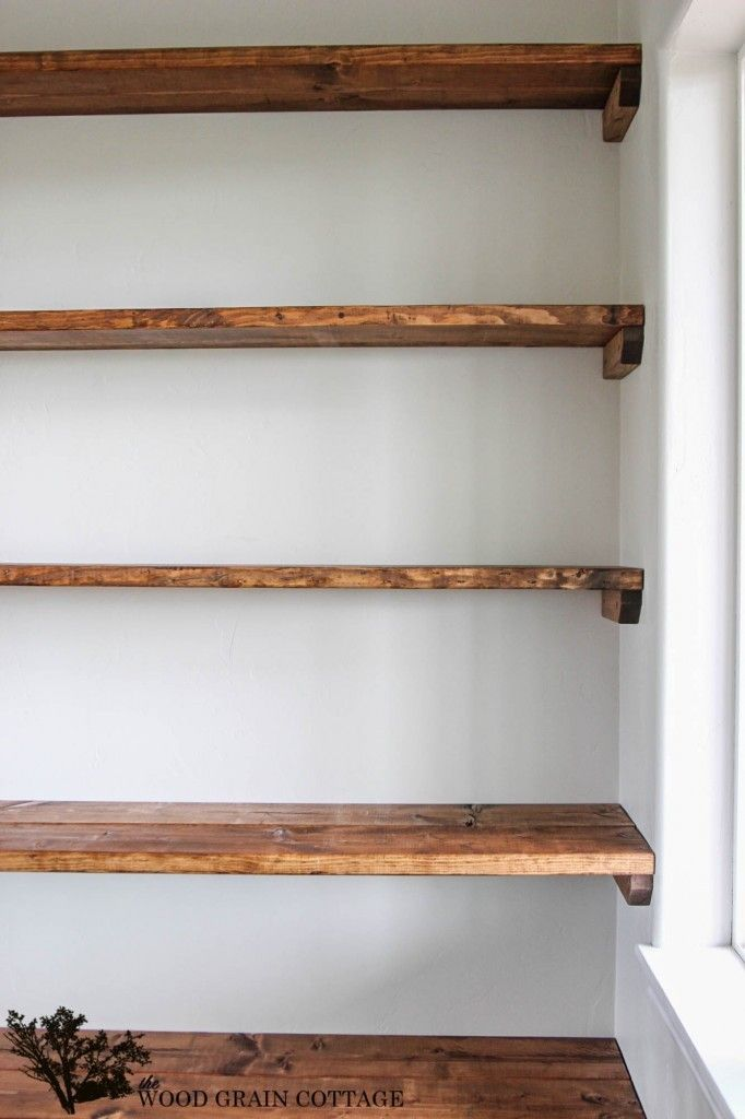 diy shelves - 18 diy shelving ideas JBKEUGS