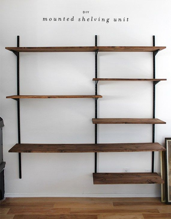 diy shelves best 25+ diy wall shelves ideas on pinterest | picture ledge, picture XDNZBZD