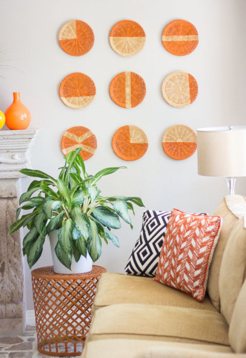 diy wall decor basket wall art KQQPASC