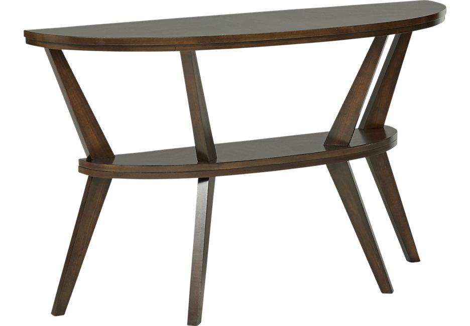 ellsworth brown sofa table VKPYBRG