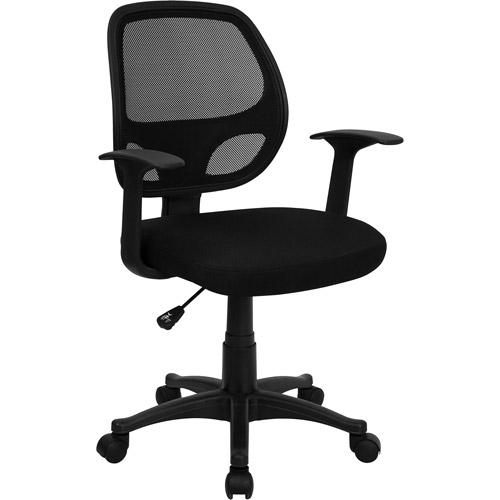 flash furniture mesh back computer chair, black IZZIEIG