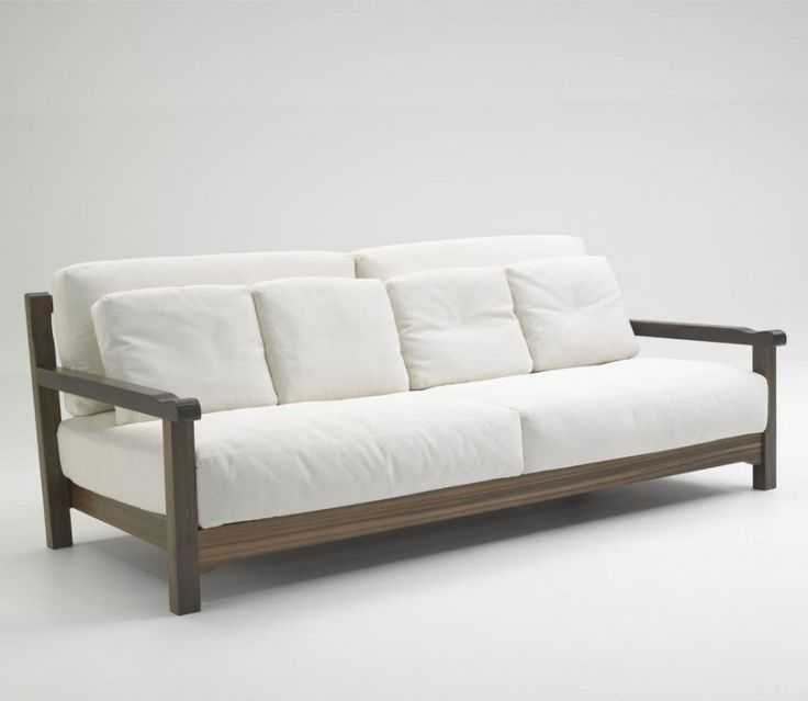 furniture simple wood sofa design: simple modern white sofa design with  wooden ACZFSUN
