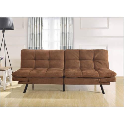 futon beds mainstays memory foam futon, multiple colors HLKIACK
