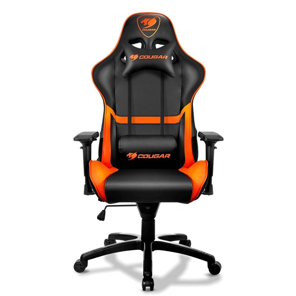 gamer chair cougar armor gaming chair (orange) BJWITNV