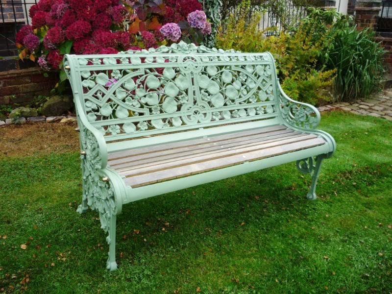 Superbe Garden Benches Antique Bench,garden Bench,garden Seat,ukaa,cast Iron Garden