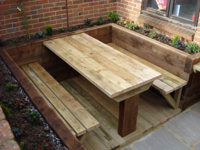 garden table the urban landscape company - award winning landscape gardener - garden  designu2026 OQVXUHP