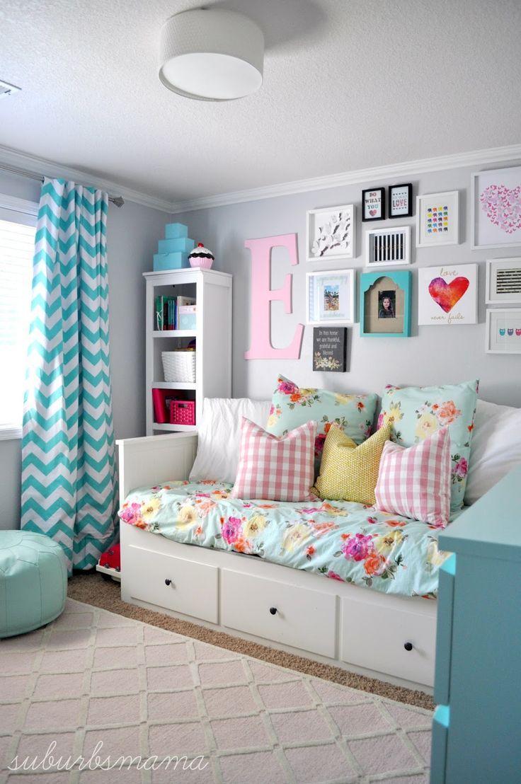 girls bedroom ideas suburbs mama: big girl room IRBTYFW