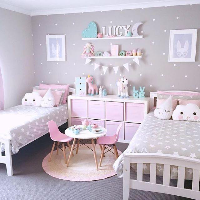 girls bedroom ideas  YNMJACK