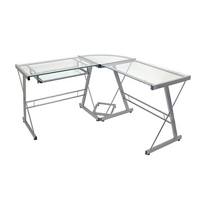 glass computer desk $129.99 VMJCFKV