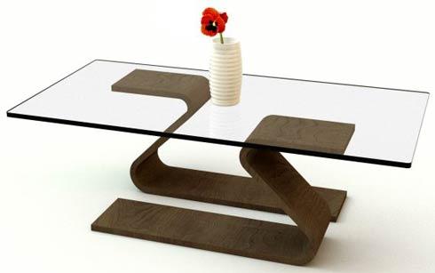 glass table minimalistic glass tables by adi fainer MRETGAH