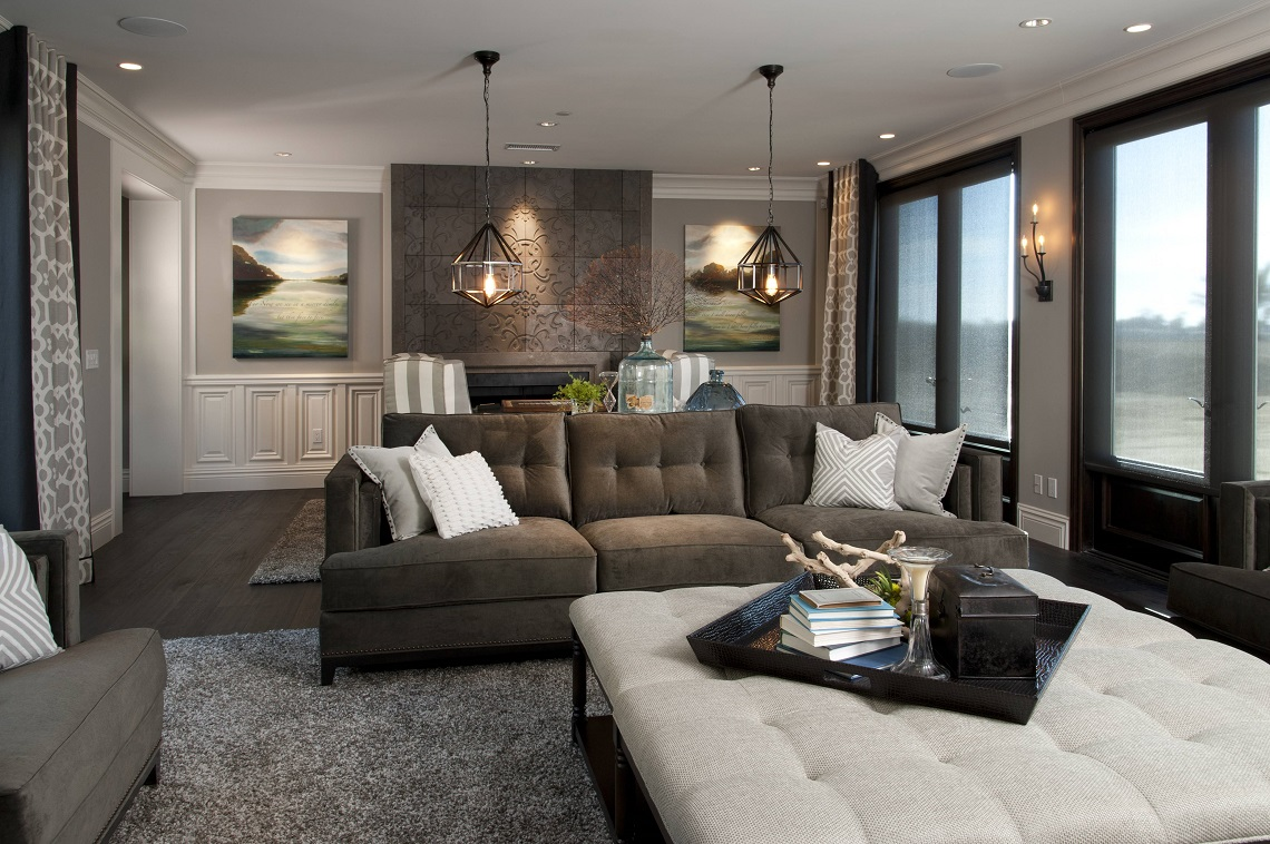 hamptonu0027s inspired luxury family room 1.2 after CBZXDSY