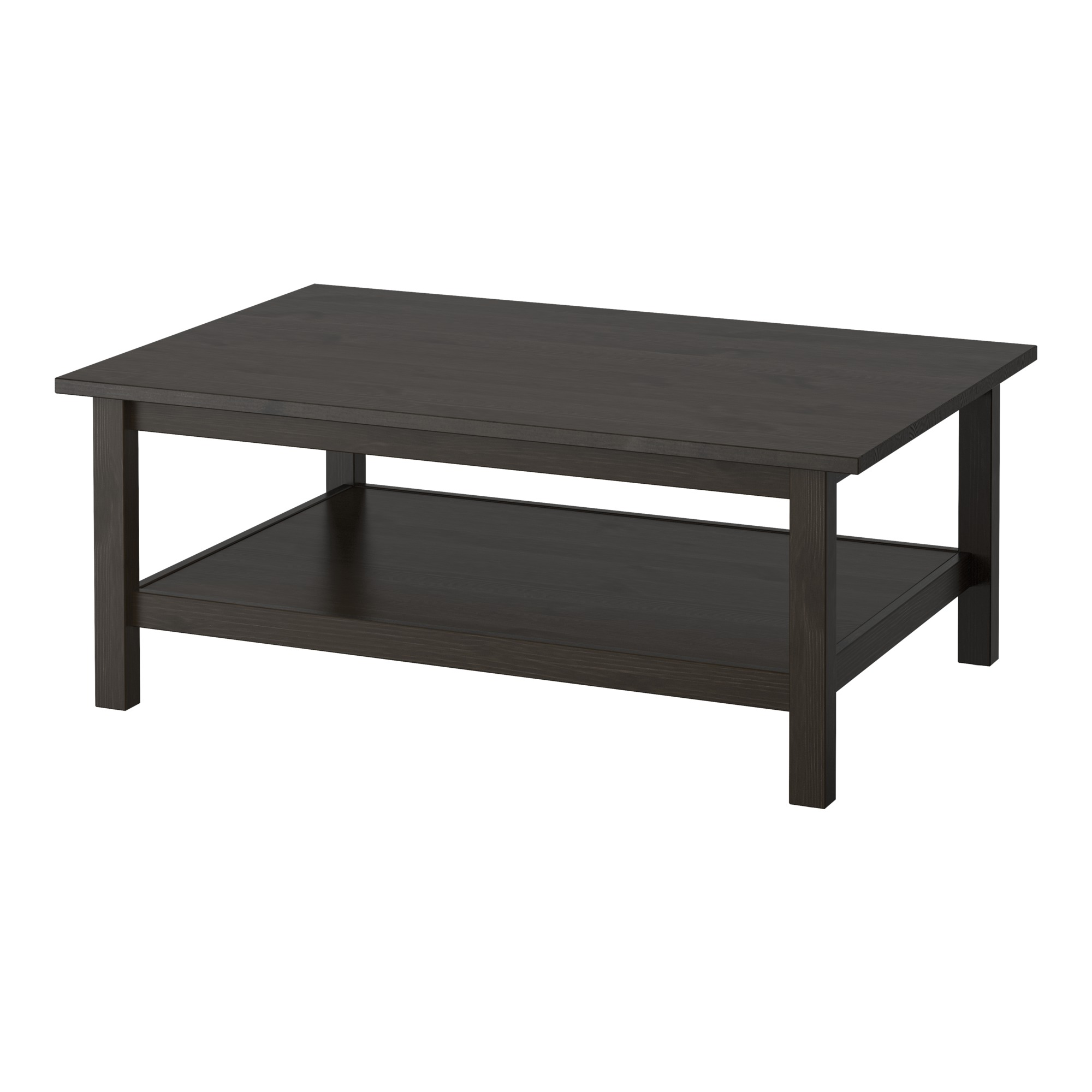 hemnes coffee table - dark gray stained - ikea FMNLJQI