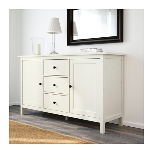 hemnes sideboard - dark gray stained - ikea DLXFEMR