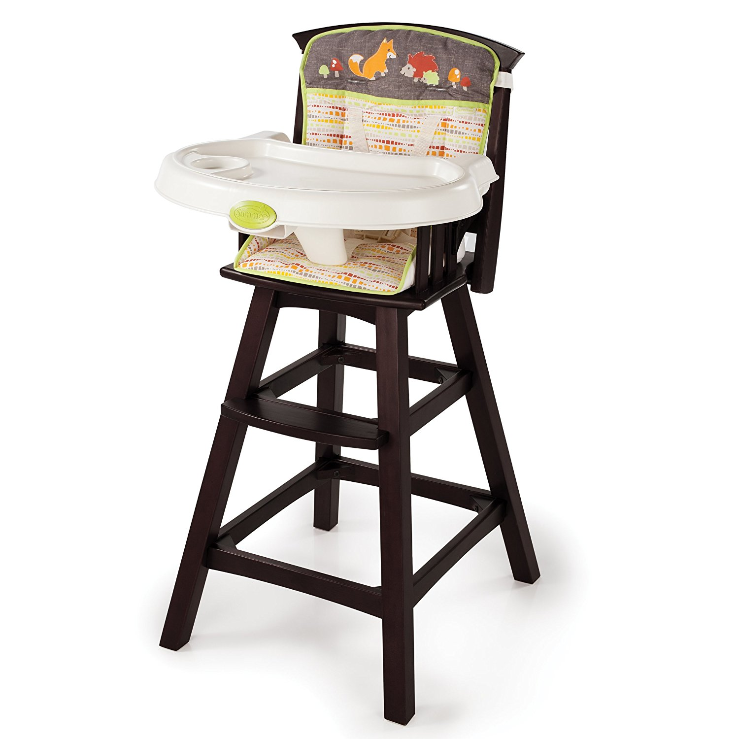 A home with a high chair is happy