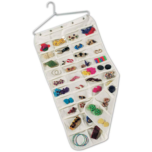 household essentials 80-pocket jewelry organizer CJXFIFU