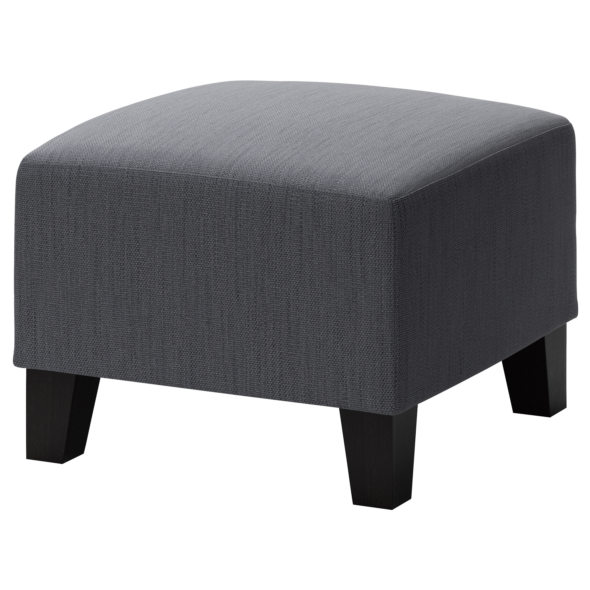 ikea ekenäs footstool hardwearing cover of chenille quality with a slight  sheen KBMOOZB