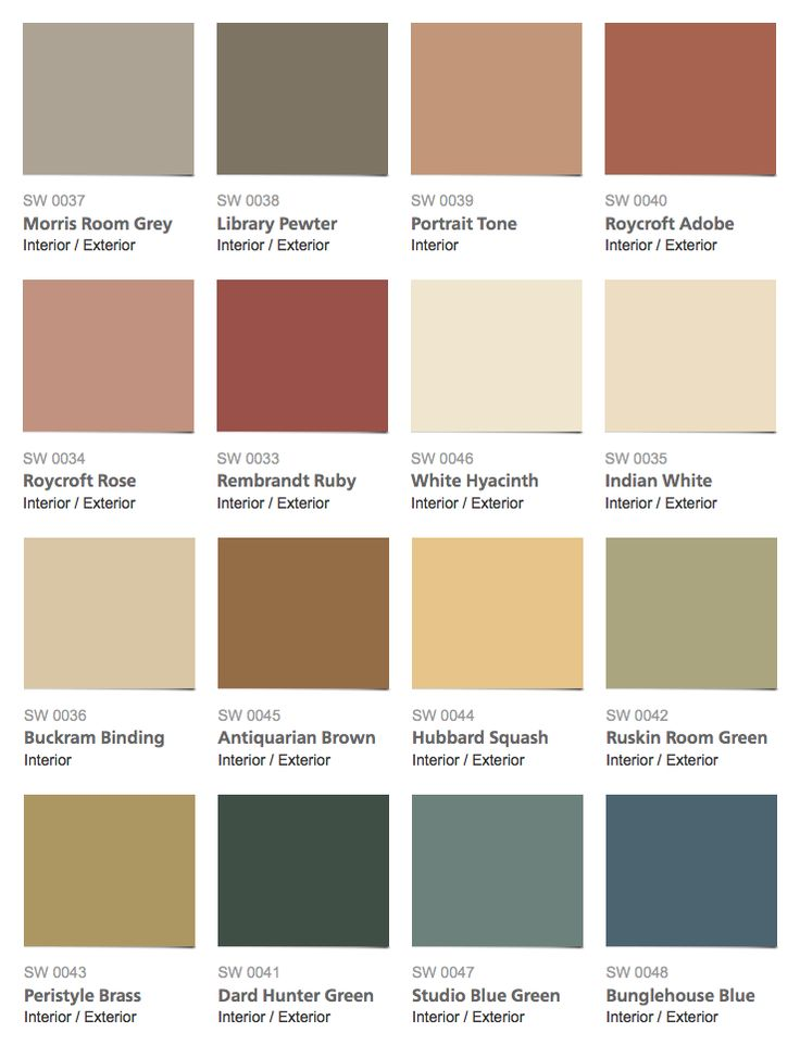 interior paint colors sherwin-williams - historic color collection - arts u0026 crafts interior paint  colors WODORGN
