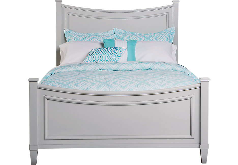 jaclyn place gray 3 pc full bed - beds colors ISAEVSI