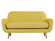 jonah 2 seater sofa, saffron yellow ZHEDWWV