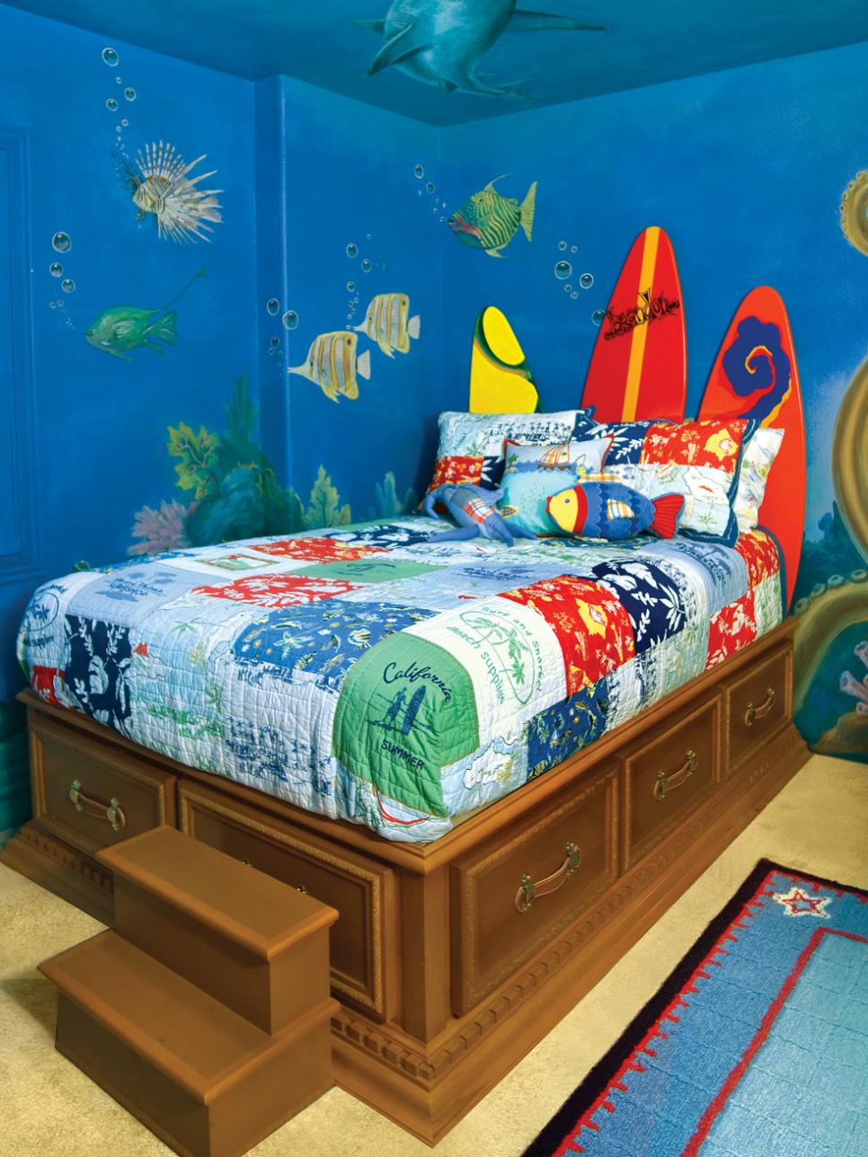 kids bedroom decoration around the world SGLQIMV