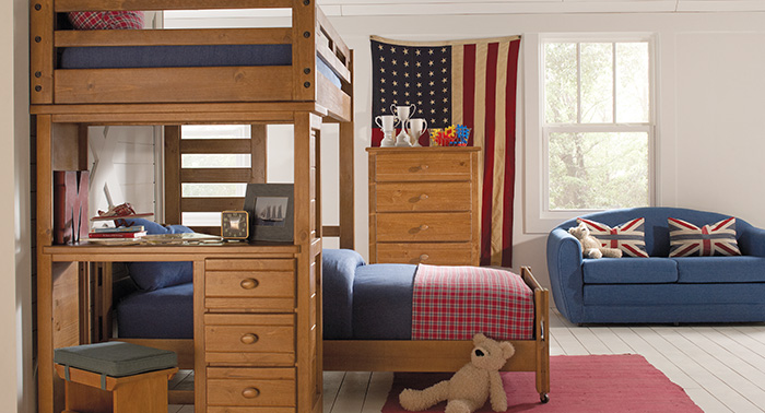 kids loft beds bunk bedrooms AFUJELX