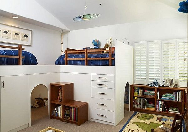 kids loft beds colorful kids bedroom with loft bed. by ducduc. view in gallery white ... RMDRWIS