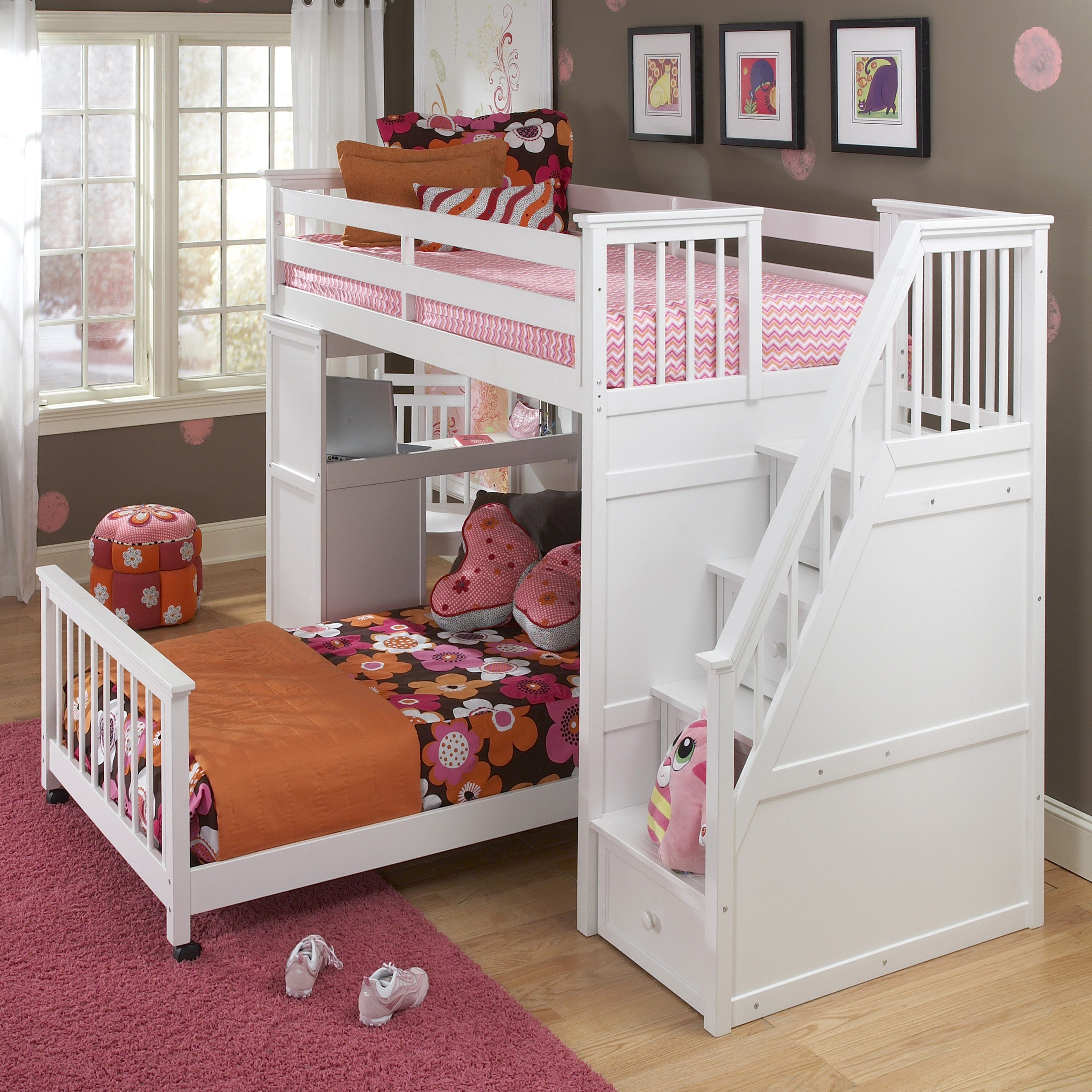 kids loft beds ne kids schoolhouse student loft bed - white - bunk beds u0026 loft QVFPWHD
