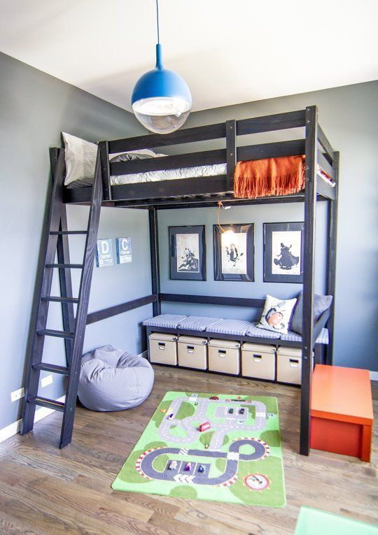 kids loft beds raise the roof: kidsu0027 loft bed inspiration SBFREGH