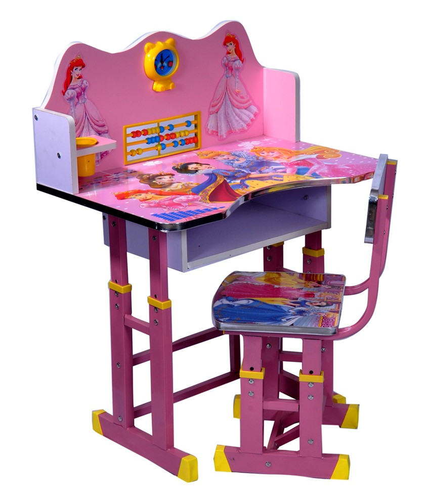 kids study table wood wizard barbie XDRQGCO