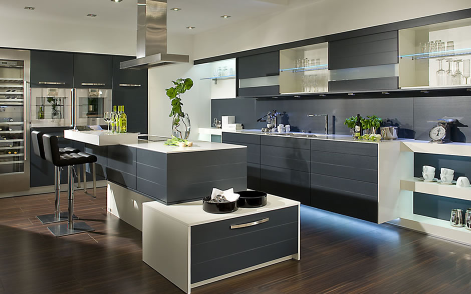 kitchen interior design simple ornaments