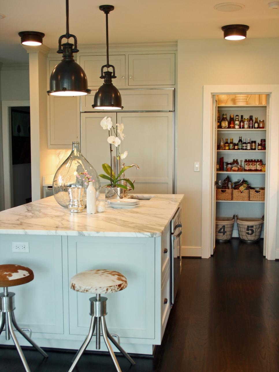 kitchen light fixtures kitchen lighting design tips | hgtv YEVKOWT